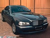 1996 Bentley Rapier = 255 kph, 395 bhp, 6.1 sec.