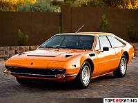 1972 Lamborghini Jarama 400 GTS = 262 kph, 365 bhp, 5.3 sec.