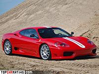 2003 Ferrari 360 Challenge Stradale = 300 kph, 425 bhp, 4 sec.