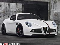2012 Alfa Romeo 8C Competizione Wheelsandmore Stage II = 295 kph, 485 bhp, 4 sec.