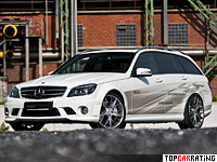 2012 Mercedes-Benz C 63 AMG Edo Competition T-Model = 343 kph, 600 bhp, 4.1 sec.