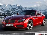2012 BMW Zagato Coupe = 250 kph, 340 bhp, 4.5 sec.