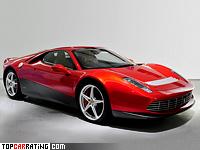 2012 Ferrari SP12 EC = 325 kph, 570 bhp, 3.3 sec.