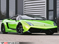 2012 Lamborghini Gallardo LP620-4 Superleggera Wheelsandmore Green Beret = 330 kph, 620 bhp, 3.2 sec.