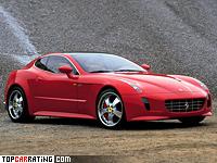 2005 Ferrari GG50 Concept = 320 kph, 540 bhp, 4.2 sec.