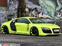 2012 Audi R8 V10 XXX Performance = 320 kph, 650 bhp, 3.4 sec.