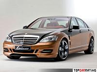 2012 Mercedes-Benz S 600 Lorinser S70 6.0 V12 Bi-Turbo = 330 kph, 805 bhp, 4 sec.