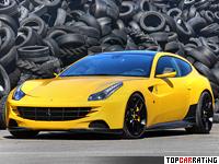 2012 Ferrari FF Novitec Rosso = 340 kph, 702 bhp, 3.6 sec.