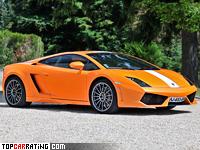2009 Lamborghini Gallardo LP550-2 Valentino Balboni = 320 kph, 550 bhp, 3.7 sec.