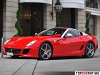 2010 Ferrari 599 SA Aperta = 325 kph, 670 bhp, 3.6 sec.