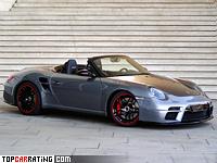 2010 9ff 911 Speed9 (Porsche 911 Carrera S Cabriolet) = 330 kph, 650 bhp, 3.3 sec.