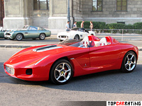 2000 Ferrari Rossa Concept = 300 kph, 485 bhp, 4.5 sec.