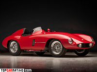 1954 Ferrari 750 Monza = 260 kph, 260 bhp, 5 sec.