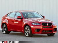 2009 BMW X6 M  = 250 kph, 555 bhp, 4.7 sec.