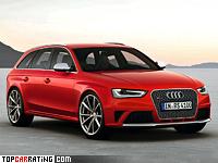 2012 Audi RS4 Avant (B8) = 280 kph, 450 bhp, 4.7 sec.