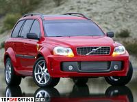 2004 Volvo XC90 PUV Concept = 300 kph, 650 bhp, 4.8 sec.