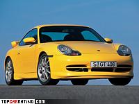 1999 Porsche 911 GT3 (996) = 302 kph, 360 bhp, 4.8 sec.
