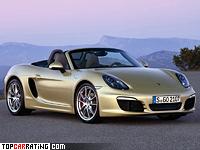 2012 Porsche Boxster S (981) = 277 kph, 315 bhp, 5 sec.