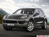 2012 Porsche Cayenne S Diesel (958) = 252 kph, 382 bhp, 5.7 sec.