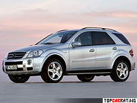 2006 Mercedes-Benz ML 63 AMG (W164) = 250 kph, 510 bhp, 5 sec.