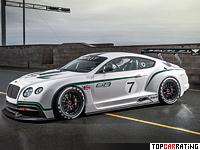 2013 Bentley Continental GT3 = 330 kph, 606 bhp, 3.2 sec.