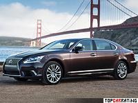 2013 Lexus LS 600h L = 250 kph, 445 bhp, 6.3 sec.