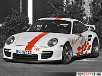 2009 Porsche 911 GT2 Wimmer RS GT2 Speed Biturbo = 378 kph, 827 bhp, 3.38 sec.