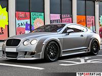 2009 Bentley Continental GT Speed Hamann Imperator = 330 kph, 650 bhp, 4.4 sec.