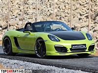 2012 Porsche Boxster S SpeedART SP81-R = 284 kph, 335 bhp, 4.7 sec.