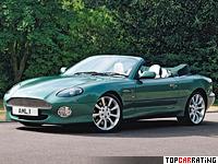 1999 Aston Martin DB7 Vantage Volante = 265 kph, 420 bhp, 5.1 sec.