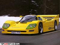 1991 Koenig C62 = 378 kph, 800 bhp, 3.4 sec.