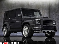2010 Mercedes-Benz G 55 AMG Mansory G-Couture = 220 kph, 700 bhp, 4.9 sec.