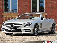 2012 Brabus Mercedes-Benz SL 500 (R231) = 300 kph, 520 bhp, 4.4 sec.