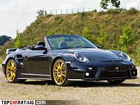 2012 9ff 911 GTronic 1200 (Porsche 911 Turbo Cabriolet) = 375 kph, 1200 bhp, 2.8 sec.