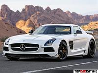 2013 Mercedes-Benz SLS AMG Black Series = 315 kph, 631 bhp, 3.6 sec.