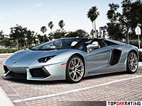 2013 Lamborghini Aventador LP700-4 Roadster = 350 kph, 700 bhp, 3 sec.