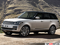2012 Land Rover Range Rover Supercharged = 225 kph, 510 bhp, 5.4 sec.