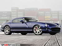 1997 TVR Cerbera Speed Eight 4.5 = 265 kph, 426 bhp, 4.2 sec.