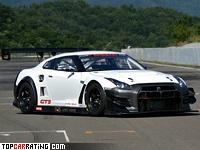 2013 Nissan GT-R Nismo GT3 = 310 kph, 550 bhp, 2.6 sec.