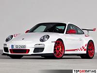 2009 Porsche 911 GT3 RS (997) = 310 kph, 450 bhp, 4 sec.