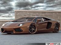 2012 Lamborghini Aventador LP777-4 Wheelsandmore Chocolate Rabbioso = 350 kph, 777 bhp, 2.7 sec.