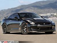 2011 Nissan GT-R AMS Alpha 12 = 370 kph, 1500 bhp, 2.4 sec.