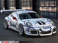 2013 Porsche 911 GT3 Cup (991) = 325 kph, 460 bhp, 3.2 sec.