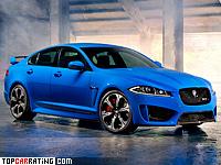 2013 Jaguar XFR-S = 300 kph, 550 bhp, 4.4 sec.