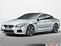 2013 BMW M6 Gran Coupe (F06) = 305 kph, 560 bhp, 4.2 sec.