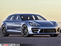 2012 Porsche Panamera Sport Turismo Concept = 250 kph, 380 bhp, 5.8 sec.