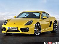 2013 Porsche Cayman S (981C) = 283 kph, 325 bhp, 5 sec.