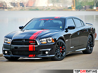 2011 Dodge Charger SRT8 = 282 kph, 465 bhp, 4 sec.