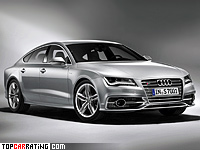 2012 Audi S7 Sportback = 250 kph, 420 bhp, 4.9 sec.