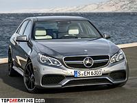 2013 Mercedes-Benz E 63 AMG 4Matic (W212) = 250 kph, 557 bhp, 3.7 sec.